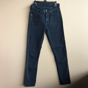 7 for all mankind high waist Roxanne Skinny Jean25